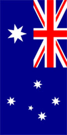 Hire Banner Flag Australian Vertical Flag Display By Adwareflags.com